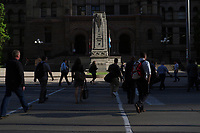 Toronto,  CANADA - File Photo - Downtown Toronto -<br /> <br /> Photo :  Agence Quebec Presse - Pierre Roussel