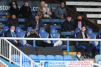 Peterborogh's Barry Fry (bottom left) and Sunderland's Owner Kyril Louis-Dreyfus (bottom right) during Peterborough United vs Sunderland AFC, Sky Bet EFL League 1 Football at London Road on 5th April 2021
