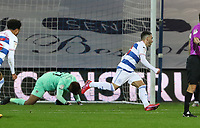 EDIT: Ilias Chair of Queens Park Rangers celebrates his first goal during Queens Park Rangers vs Rotherham United, Sky Bet EFL Championship Football at The Kiyan Prince Foundation Stadium on 24th November 2020