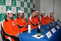 4-4-07, England, Birmingham, Tennis, Daviscup England-Netherlands,