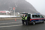 Coronavirus Outbreak - Italy in Lockdown - Border with Austria - quarantine on 10/03/2020, Brennero, Brener, Italy. Military, Police and Austrian Authorities are seen realising controls on 10th of March 2020, Since this morning Italy is in lockdown till 3rd of April 2020 in a bid to try to avoid a pandemic of the Covid-19. Today Italy is having more than 500 deaths.