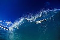 Crashing wave, Oahu.