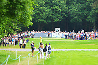 Wentworths 3rd tee during the BMW PGA Golf Championship at Wentworth Golf Course, Wentworth Drive, Virginia Water, England on 28 May 2017. Photo by Steve McCarthy/PRiME Media Images.