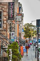 Downtown Washington DC Shopping and Dining<br /> U St, NW Washington DC  U St Corridor