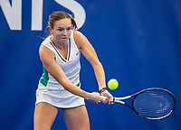 Amstelveen, Netherlands, 14  December, 2020, National Tennis Center, NTC, NK Indoor, National  Indoor Tennis Championships, Qualifying:  Perla Nieuwboer  (NED) <br /> Photo: Henk Koster/tennisimages.com