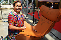 - NO TABLOIDS, NO SITE WEB - Rigoberta Menchu - Tapis rouge de l'ouverture du 56e Festival de Television de Monte-Carlo