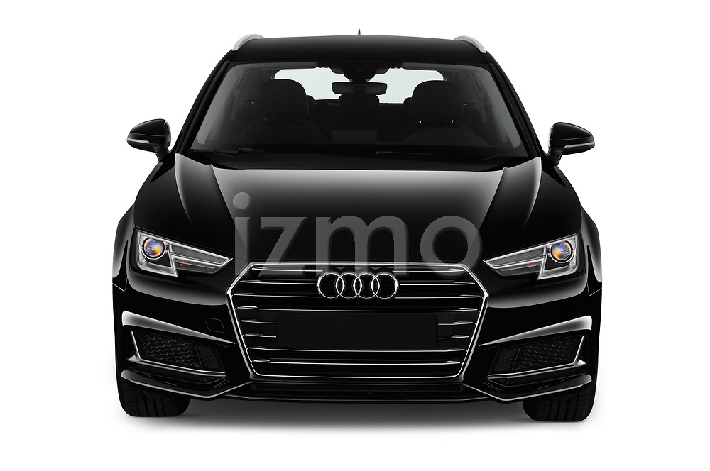 Straight front view of a 2019 Audi A4-Avant Design 5 Door Wagon