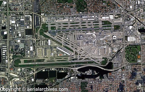 aerial photograph Miami International airport MIA, Florida