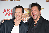 """LONDON, UK. October 09, 2019: Brendan Cole & Jeremy Edwards at the photocall for """"The X Factor: Celebrity"""", London.<br /> Picture: Steve Vas/Featureflash"""