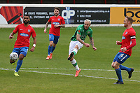 Rhys Murphy of Yeovil Town hits the post during Dagenham & Redbridge vs Yeovil Town, Vanarama National League Football at the Chigwell Construction Stadium on 17th October 2020