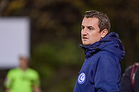 Gent's head coach Dave Mattheus pictured during a female soccer game between RSC Anderlecht Dames and AA Gent Ladies on the seventh matchday of the 2020 - 2021 season of Belgian Womens Super League , friday 13 th of November 2020  in Overijse , Belgium . PHOTO SPORTPIX.BE | SPP | STIJN AUDOOREN