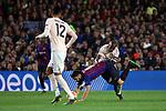 UEFA Champions League 2018/2019.<br /> Quarter-finals 2nd leg.<br /> FC Barcelona vs Manchester United: 3-0.<br /> Chris Smalling, Luis Suarez & Ashley Young.