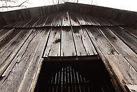 Farmstead visitors are welcome to go inside barns, sheds and the Parker-Hickman home.<br />(NWA Democrat-Gazette/Flip Putthoff)