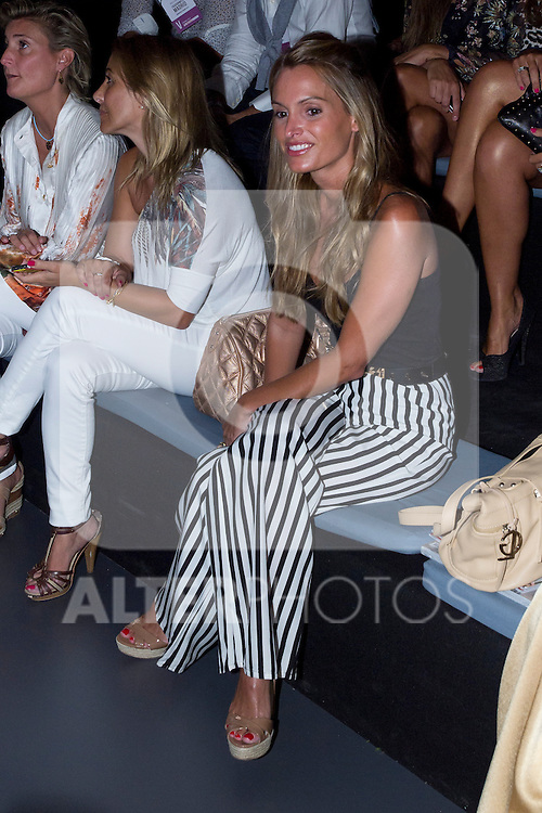 31.08.2012. Celebrities attending the Mahou Collection 1960-2012 by Elio Berhanyer  fashion show during the Mercedes-Benz Fashion Week Madrid Spring/Summer 2013 at Ifema. In the image Andrea Gomez (Alterphotos/Marta Gonzalez)