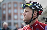 Tim Wellens (BEL/Lotto Soudal) at the start in Liège<br /> <br /> 103rd Liège-Bastogne-Liège 2017 (1.UWT)<br /> One Day Race: Liège › Ans (258km)