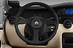 Car pictures of steering wheel view of a 2016 Citroen E-Mehari 3 Door Convertible Steering Wheel