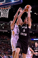 New Zealand Tall Blacks' Rob Loe in action during the FIBA World Cup Basketball Qualifier - NZ Tall Blacks v Jordan at Horncastle Arena, Christchurch, New Zealand on Thursday 29 November  2018. <br /> Photo by Masanori Udagawa. <br /> www.photowellington.photoshelter.com