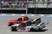 NASCAR Camping World Truck Series<br /> LTI Printing 200<br /> Michigan International Speedway, Brooklyn, MI USA<br /> Saturday 12 August 2017<br /> Ryan Truex, Hino Toyota Tundra<br /> World Copyright: Matthew T. Thacker<br /> LAT Images