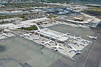 Aerial of Honolulu Int'l Airport