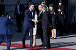 Pedro Sanchez attends to 40 Anniversary of Spanish Constitution at Congreso de los Diputados in Madrid, Spain. December 06, 2018. (ALTERPHOTOS/A. Perez Meca)