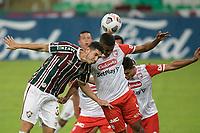 Rio de Janeiro (RJ), 12/05/2021 - FLUMINENSE-SANTA FE - Nino (e), do Fluminense. Partida entre Fluminense e Santa Fe, válida pela Copa Libertadores, realizada no Estádio Jornalista Mário Filho (Maracanã), nesta quarta-feira (12).