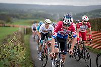Mathieu Van der Poel (NED/Alpecin-Fenix) up the Côte de la Redoute<br /> <br /> 106th Liège-Bastogne-Liège 2020 (1.UWT)<br /> 1 day race from Liège to Liège (257km)<br /> <br /> ©kramon