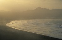 Europe/Espagne/Iles Canaries/Lanzarote/Famara : La plage