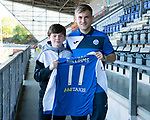 St Johnstone Players Sponsors Night…10.05.18<br />George Williams<br />Picture by Graeme Hart.<br />Copyright Perthshire Picture Agency<br />Tel: 01738 623350  Mobile: 07990 594431