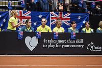 April 18, 2015, Netherlands, Den Bosch, Maaspoort, Fedcup Netherlands-Australia,  Australian support<br /> Photo: Tennisimages/Henk Koster