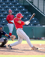 Brad Coon / AZL Angels in a rehab appearance against the AZL Mariners at Tempe Diablo Stadium - 08/02/2008..Photo by:  Bill Mitchell/Four Seam Images