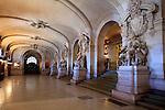 Entry hall of Opera Garnier. Palais Garnier. City of Paris. Paris