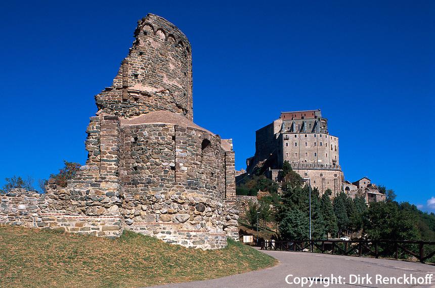 Italien, Piemont, Sacro di San Michele im Susatal