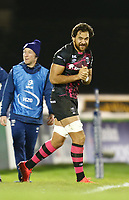 20th December 2020; The Sportsground, Galway, Connacht, Ireland; European Champions Cup Rugby, Connacht versus Bristol Bears; Bristol Bears captain Steven Luatua leads his team on to the pitch