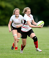 24 August 2019; Vicky Irwin during the Women's Interprovincial Championship match between Ulster and Leinster at Armagh RFC in Armagh. Photo by John Dickson / DICKSONDIGITAL