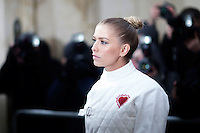 Elena Perminova attends the Christian Dior Haute Couture Spring Summer 2017 show as part of Paris Fashion Week at Musee Rodin on January 23, 2017 in Paris, France. # FASHION WEEK DE PARIS - DEFILE 'DIOR' - PEOPLE