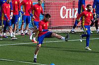 Spainsh Cesar Azpilicueta during the training of the spanish national football team in the city of football of Las Rozas in Madrid, Spain. November 09, 2016. (ALTERPHOTOS/Rodrigo Jimenez) ///NORTEPHOTO.COM