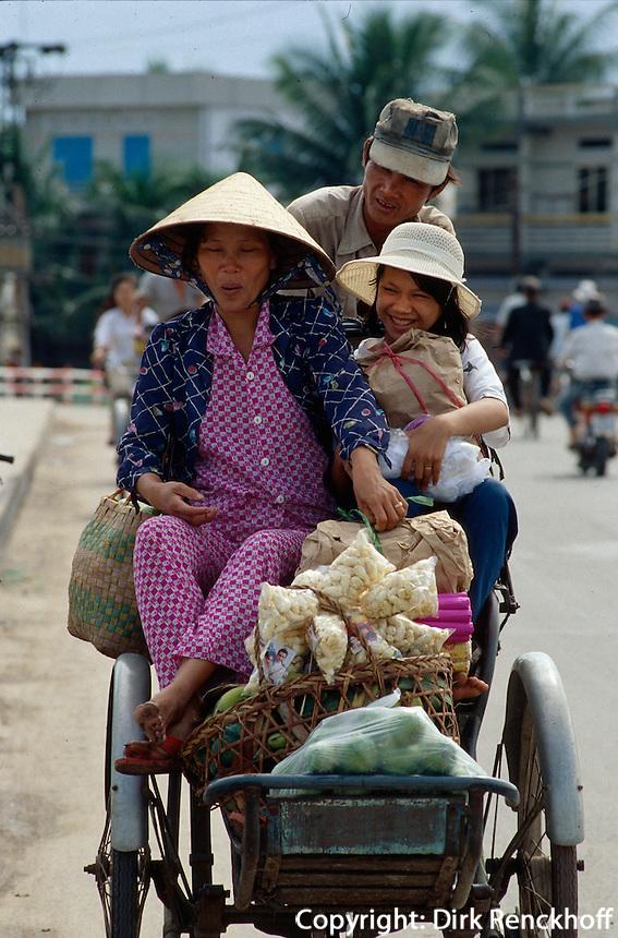 Rikscha in Nha Trang, Vietnam