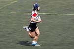 Mayu Shimizu competes against Hong Kong during the Womens Rugby World Cup 2017 Qualifier match between Hong Kong and Japan on December 17, 2016 in Hong Kong, Hong Kong. Photo by Marcio Rodrigo Machado / Power Sport Images