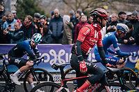 Michael Matthews (AUS/Sunweb) at the start<br /> <br /> 74th Omloop Het Nieuwsblad 2019 <br /> Gent to Ninove (BEL): 200km<br /> <br /> ©kramon
