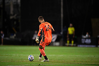 LAKE BUENA VISTA, FL - JULY 27: Stefan Frei #24 of the Seattle Sounders kicks the ball during a game between Seattle Sounders FC and Los Angeles FC at ESPN Wide World of Sports on July 27, 2020 in Lake Buena Vista, Florida.