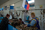 Fish market. <br /> Kerch is a city of regional significance on the Kerch Peninsula in the east of the Crimea, a territory recognized by a majority of countries as part of Ukraine and annexed by Russia in March, 2014. <br /> <br /> Founded 2,600 years ago as an ancient Greek colony, Kerch is considered to be one of the most ancient cities in Crimea. The city experienced rapid growth starting in the 1920s and was the site of a major battle during World War II.<br /> <br /> Today, it is one of the largest cities in Crimea and is among the republic's most important industrial, transport and tourist centres.