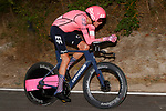 Hugh Carthy (GBR) EF Education-Nippo in action during Stage 1 of La Vuelta d'Espana 2021, a 7.1km individual time trial around Burgos, Spain. 14th August 2021.    <br /> Picture: Luis Angel Gomez/Photogomezsport | Cyclefile<br /> <br /> All photos usage must carry mandatory copyright credit (© Cyclefile | Luis Angel Gomez/Photogomezsport)