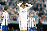 Real Madrid's Cristiano Ronaldo dejected during Champions League 2014/2015 Quarter-finals 2nd leg match.April 22,2015. (ALTERPHOTOS/Acero)