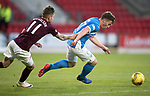 St Johnstone v Hearts 17.05.17     SPFL    McDiarmid Park<br />Sam Nicholson fouls Craig Thomson<br />Picture by Graeme Hart.<br />Copyright Perthshire Picture Agency<br />Tel: 01738 623350  Mobile: 07990 594431