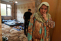 Federal immigration service conducts two raids that we photographed. The early morning raid (photos of people waking up thru processing in cramped office) was run by Mikhail and was primarily Uzbeks in Russia illegally.  The second raid was at a construction site and those folks were Uzbeks and Tajiks.  Most immigrants come to work in construction and other menial jobs and the financial crisis has taken many of the construction jobs away leaving migrants destitute in MANY of the cities I've been working in...1,800,000 were born in Russia in 2009 which is 27,000 more than the deaths that year.  So Russia is basically at the replacement rate, but there are not as many breeders in the lineup moving forward... so the state has instituted a number of policies including free housing for immigrants and a one time payment of over $10,000 for a woman to have either the 2nd, 3rd or 4th baby.