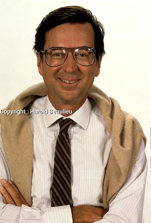 EXCLUSIVE FILE PHOTO : Robert Bourassa, circa 1985<br /> <br /> <br /> PHOTO : Harold Beaulieu<br />  - Agence Quebec Presse