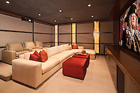 Stock photo of home theater