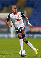 Bolton Wanderers' Nathan Delfouneso looks on <br /> <br /> Photographer Andrew Kearns/CameraSport<br /> <br /> The EFL Sky Bet League Two - Bolton Wanderers v Salford City - Friday 13th November 2020 - University of Bolton Stadium - Bolton<br /> <br /> World Copyright © 2020 CameraSport. All rights reserved. 43 Linden Ave. Countesthorpe. Leicester. England. LE8 5PG - Tel: +44 (0) 116 277 4147 - admin@camerasport.com - www.camerasport.com