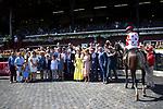 SARATOGA SPRING,NY-AUG 24: Mind Conrtol,ridden by John Velazquez,wins the Allen Jerkens Stakes at Saratoga Race Track on August 24,2019 in Saratoga Spring,New York. Kaz Ishida/Eclipse Sportswire/CSM