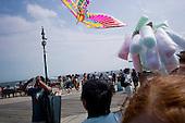 Brooklyn, New York.May 29, 2011..Coney Island on Memorial Day weekend.